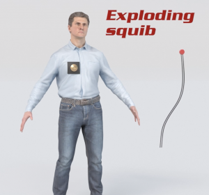 Hidden danger of explosive squibs